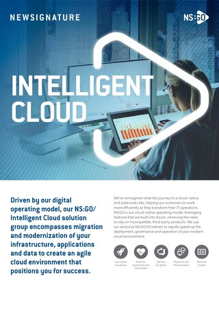 NSGO - Intelligent Cloud - Flyer