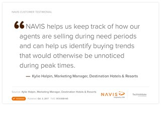 Testimonial from Kylie Halpin, Marketing Manager at Destination Hotels & Resorts