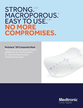 Brochure: Parietene™ DS Composite Mesh Overview