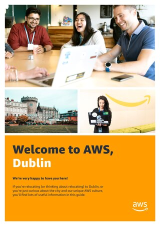 Welcome to AWS, Dublin   City Guide