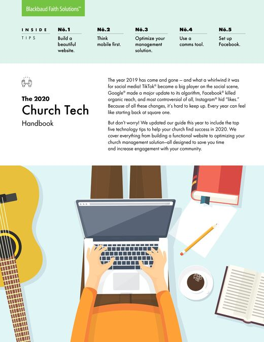 2020 Church Tech Checklist