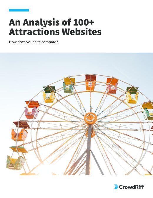 An Analysis of 100+ Attractions Websites
