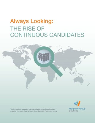 Always Looking: The Rise of Continuous Candidates