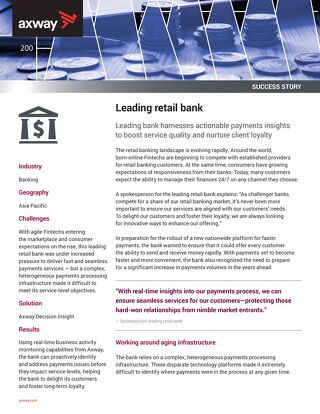 Leading retail bank