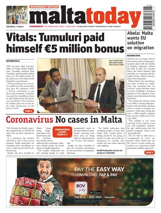 MALTATODAY 26 February 2020 Midweek