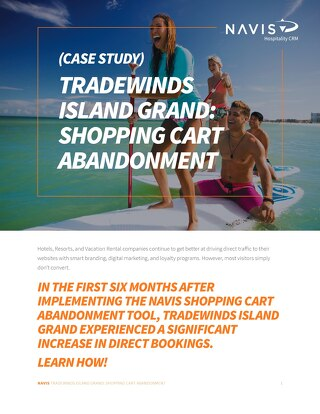 Tradewinds Island Grand Shopping Cart Abandonment Case Study