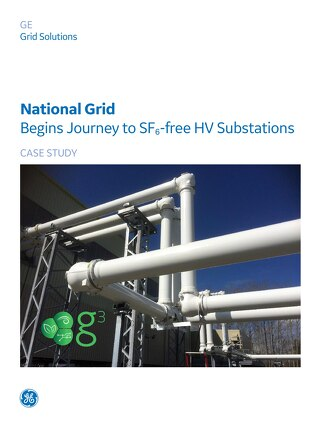 Case Study: National Grid Begins Journey to SF₆-free HV Substations in their Southeast England Network