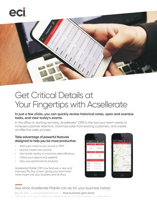 Acsellerate at Your Fingertips