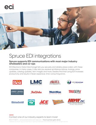 Spruce EDI Intergrations Solution Brief