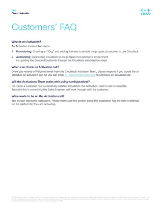 Cloudlock Customers' FAQ