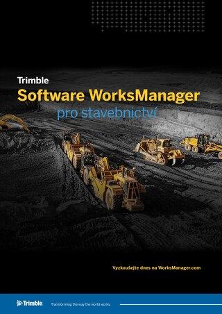 Trimble WorksManager Datasheet - Czech