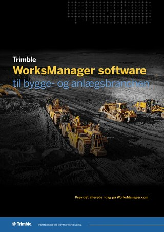 Trimble WorksManager Datasheet - Danish