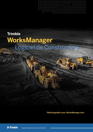 Trimble WorksManager Datasheet - French