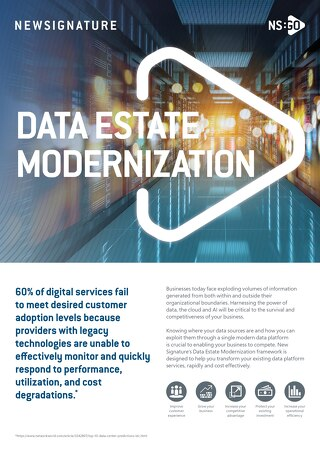 NS:GO Data Estate Modernization