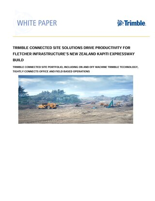 Trimble M2PP Road Construction White Paper - English