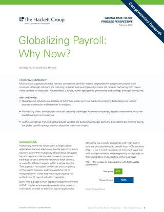 Partner perspective: Globalizing payroll, why now?