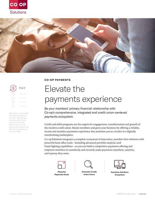 CO-OP Payments Slipsheet
