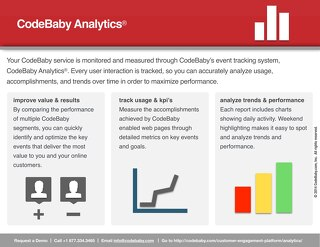 CodeBaby Analytics Datasheet