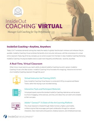 InsideOut Coaching Virtual Brochure