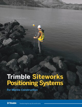 Trimble Siteworks for Marine Datasheet - English