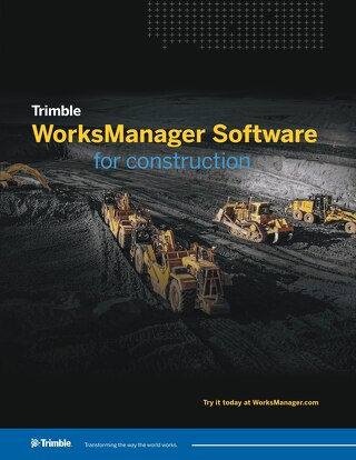 Trimble WorksManager Datasheet - English
