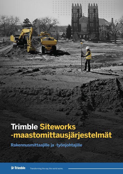 Trimble Siteworks Datasheet - Finnish