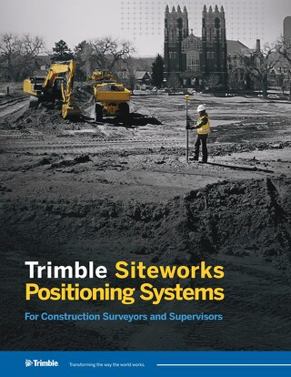 Trimble Siteworks Positioning Systems Datasheet - English