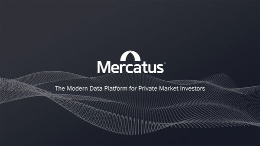 Mercatus ESG Presentation | The Modern Data Platform for Private Market Investors.