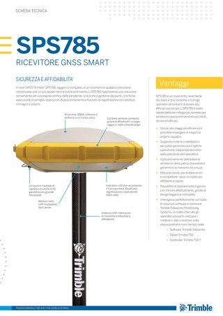 Trimble SPS785 GNSS Smart Antenna Datasheet - Italian