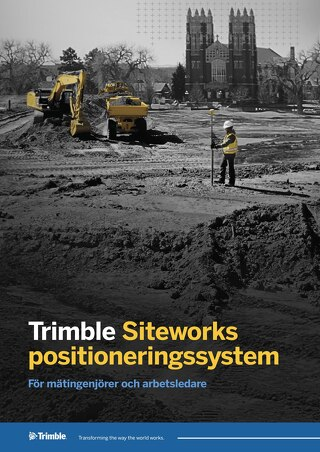 Trimble Siteworks Datasheet - Swedish