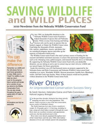 2020 Wildlife Newsletter