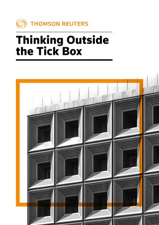 Thomson Reuters - Thinking Outside the Tick Box - 2019-20