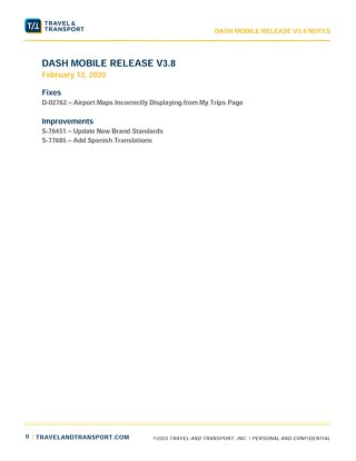 Release Notes: Dash Mobile 3.8