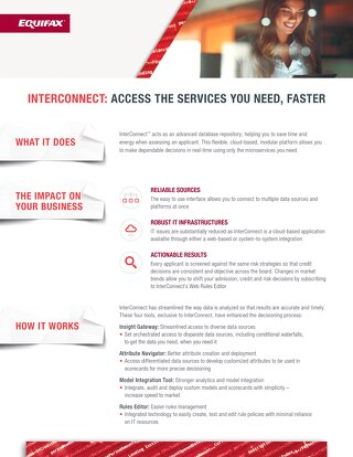 InterConnect  Product Sheet