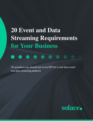20 Event and Data Streaming Requirements for 2020