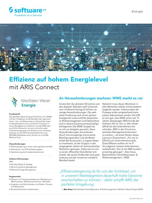 Effizienz auf hohem Energielevel