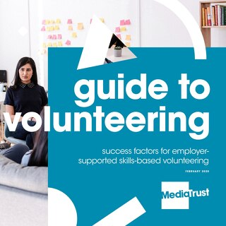 Media Trust - Volunteering Brochure