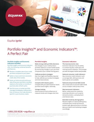 Portfolio Insights & Economic Indicators Bundled Product Sheet