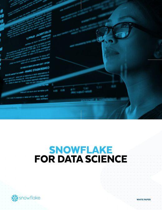 A Cloud Data Platform for Data Science