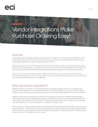 Vendor Integrations