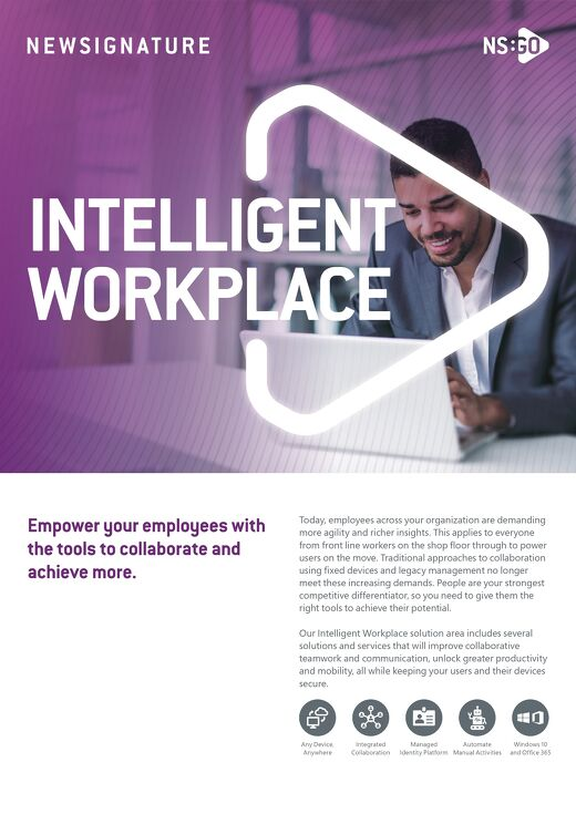 NS:GO Intelligent Workplace 2020