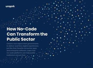 eBook: How No-Code Can Transform the Public Sector