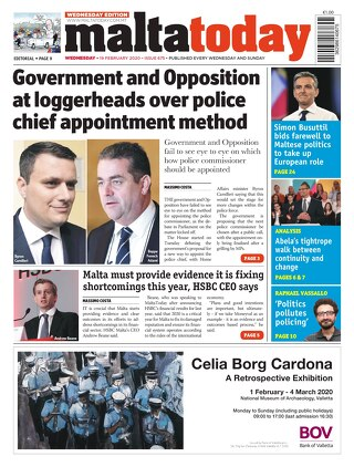 MaltaToday 19 February 2020 MIDWEEK
