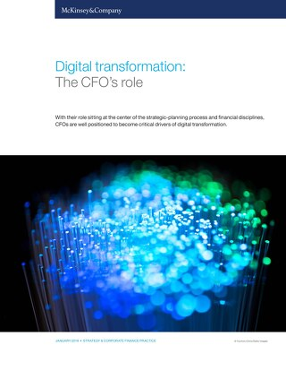 McKinsey | Digital Transformation: The CFO's Role