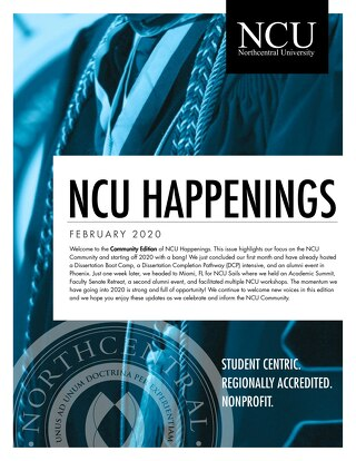 NCU Happenings February Newsletter
