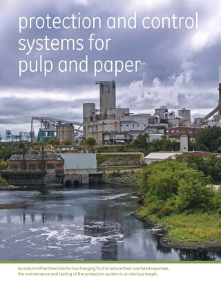 Case study: Protection and control systems for pulp and paper