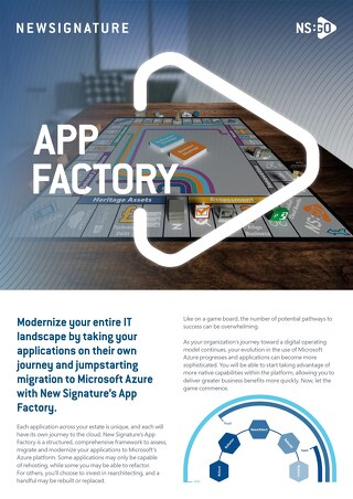NS:GO - AppFactory 2020 Flyer