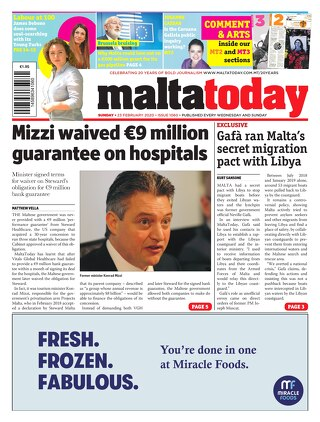 MALTATODAY 23 February 2020