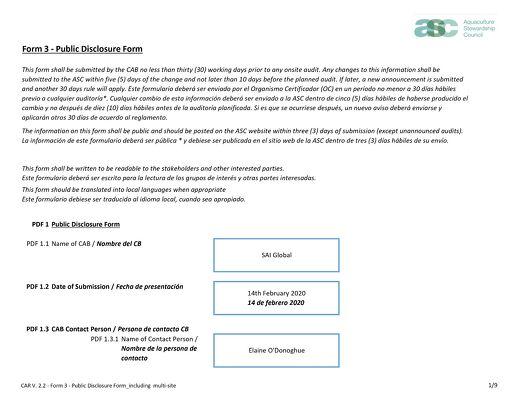 ASC092 Form 3 Stakeholder Announcement SONGA Naturisa Inducan