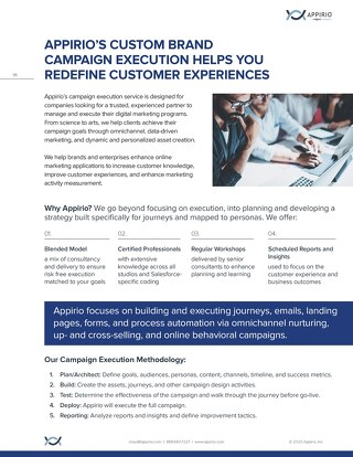 Campaign Execution One-Pager
